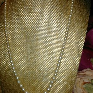 Jewelry - Vintage Princess length Pearl look Necklace